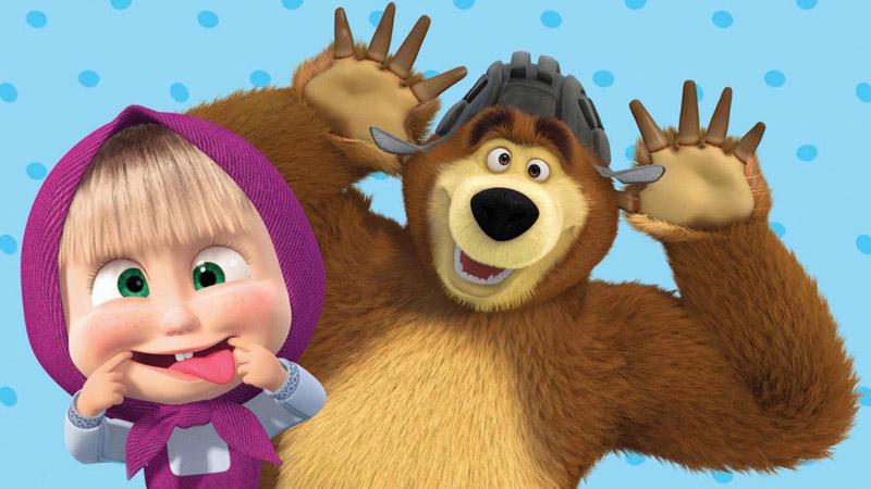 Masha e orso nuovi amici nei cinema in provincia di